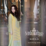 MARIA.B. Mbroidered Silk Chiffon Collection 2014 for Women 2
