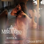 MARIA.B. Mbroidered Silk Chiffon Collection 2014 for Women 3