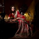 Mansha Wedding Wear Dresses 2014 003