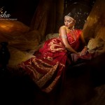 Mansha Wedding Wear Dresses 2014 005