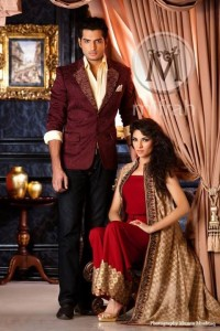 Men and Women semi Formal Wear Spring Summer Trend Collection 2014 005
