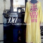 Naureen Arbab Colorful Party Wear Dresses 2014 for Women 1