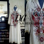 Naureen Arbab Colorful Party Wear Dresses 2014 for Women 2