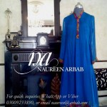 Naureen Arbab Colorful Party Wear Dresses 2014 for Women 3