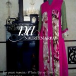 Naureen Arbab Colorful Party Wear Dresses 2014 for Women 4