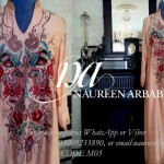 Naureen Arbab Colorful Party Wear Dresses 2014 for Women 5