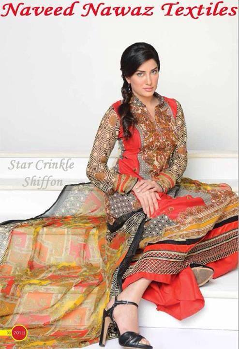 Naveed Nawaz Vol-1 Summer Wear Women Collection 2014 5