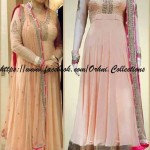 Orhni Boutique Embroidered Gowns Siuts Collection 2014 001