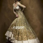 Orhni Boutique Embroidered Gowns Siuts Collection 2014 002