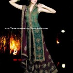 Orhni Boutique Embroidered Gowns Siuts Collection 2014 005