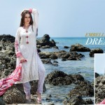 Rabea Designer Summer Lawn Collection 2014 by Shariq Textile 2