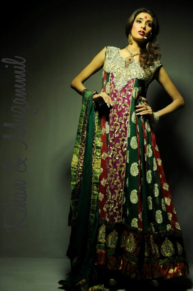 Rehan & Muzammil Women Spring Wear Collection 2014 2