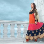 Rivaaj Spring Summer 2014 Floor Length Anarkali's for Women 1