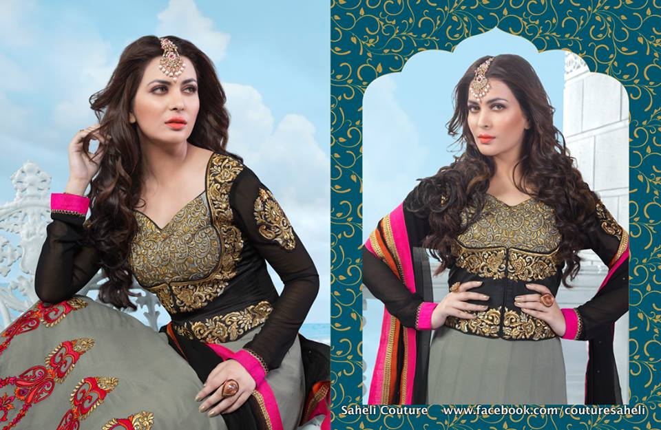 Rivaaj Spring Summer 2014 Floor Length Anarkali's for Women 2