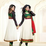 Rose Petals Indian Frocks Collection 2014 by Saheli Couture 2