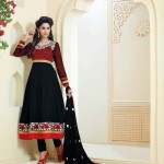 Rose Petals Indian Frocks Collection 2014 by Saheli Couture 3