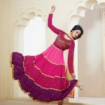 Rose Petals Indian Frocks Collection 2014 by Saheli Couture 4