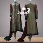 Shamraf Women Party Wear Collection 2014 for Spring 1