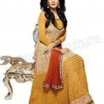 Sushmita Sen's Original Outfits New Collection 2014 Semi-Stitched 4