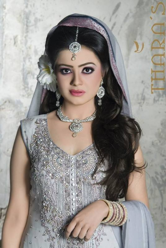 Tahara's Wedding Wear Dresses 2014 by Mansha 3