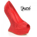 Unze Valentine's Day Footwear Collection 2014 for Women 2