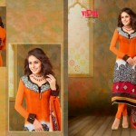 Vipul Exclusive Spring Wear Silk Collection 2014 for Women 1