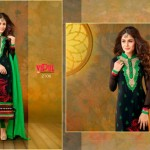 Vipul Exclusive Spring Wear Silk Collection 2014 for Women 2