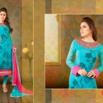 Vipul Exclusive Spring Wear Silk Collection 2014 for Women 3