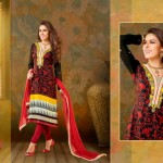 Vipul Exclusive Spring Wear Silk Collection 2014 for Women 4