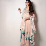 Wajahat Mansoor Latest Formal Wear Collection 2014 for Women 1