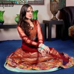 Zahra Ahmad Semi-formal Autumn Collection 2014 for Girls 2