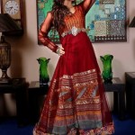 Zahra Ahmad Semi-formal Autumn Collection 2014 for Girls 5