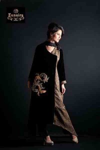 Zunaira's Lounge Women Party Wear Collection 2014 008