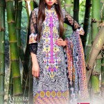 AYESHA SAMIA EMBROIDERY LAWN VOL. 1 13