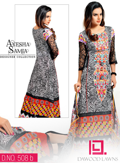 AYESHA SAMIA EMBROIDERY LAWN VOL. 1 14