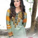 Aalishan Colorful Chiffon Lawn Vol. 2 Collections 2014 for Women 1