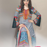 Aalishan Colorful Chiffon Lawn Vol. 2 Collections 2014 for Women 5