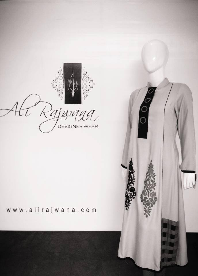 Ali Rajwana Exclusive Formal Wear Dresses 2014 For Women (1)