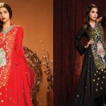 Anarkali Embroidery 2014 by sitara textile 4