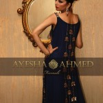 Ayesha Ahmed Party Dresses 2014 For Women 5