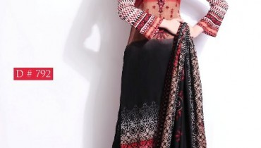 Barkha Lawn Prints 2014 by Moon Textile 3
