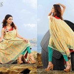 Bashir Ahmad Textiles Summer Wear Dresses 2014 for Women 2