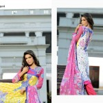 Blossom by Lala Crinke Lawn Summer Collection 2014