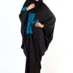 Colorful Arab Abaya Summer Wear Collections 2014 for Young Girls 2