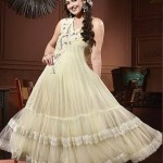 Colorful Indian Esha Deol Frock & Pajama Wear Collections 2014 for Women 5