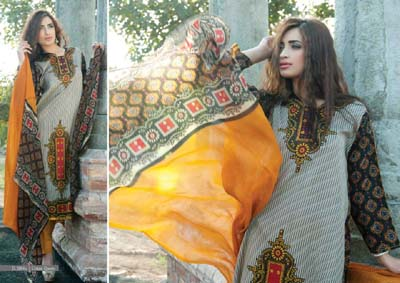 Cotton Queen Lawn 2014 by sitara textile 27