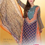 Dawood Textiles Exclusive Zam Zam Lawn Collection 2014 Vol-01 for Women 2