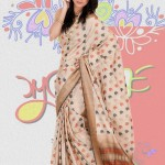 Exclusive Boishakhi Party Sarees Wear collection 2014 by Mansha