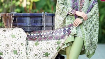 FANCY SUMMER LAWN 2014 VOLUME-1 TRENCIA SATIN SILK Gul Ahamed. 2