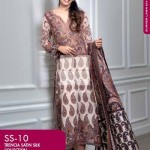 FANCY SUMMER LAWN 2014 VOLUME-1 TRENCIA SATIN SILK GulAhamed. 11